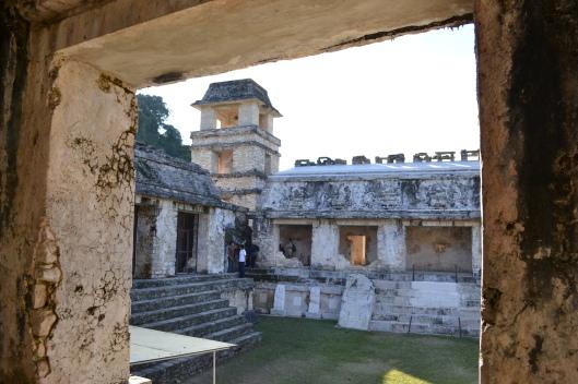 Inside Palace pyramid